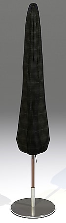 Grasekamp Black Premium Schirmhülle 215 cm  /  umbrella cover / atmungsaktiv /  breathable - Bild 1