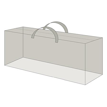 Grasekamp Black Premium Kissenschutztasche  125x32x50cm / protective bag /  atmungsaktiv / breathable - Bild 1