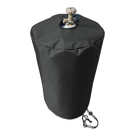 Grasekamp Black Premium Gasflaschenhülle 11kg Ø  32x47cm / gas bottle cover /  atmungsaktiv / breathable - Bild 1