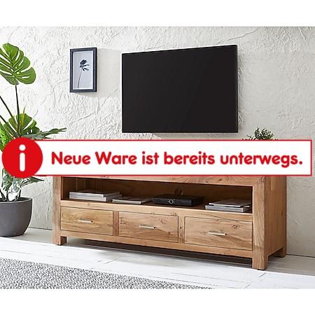 Tv-Board Indra Akazie Natur 150 cm 3 Schübe 1 Fach - Bild 1