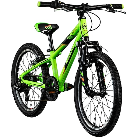 Galano G200 20 Zoll Kinderfahrrad Mountainbike Kinder Fahrrad 7 Gänge ab 6 Jahre... grün, 26 cm - Bild 1