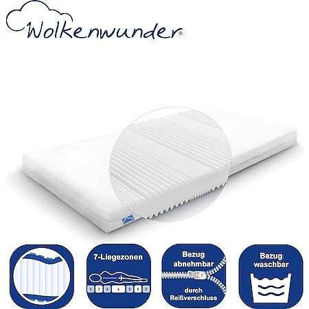 Wolkenwunder Kindermatratze Jugendmatratze mit Hygienesiegel für einen erholsamen Schlaf... 70x140 cm - Bild 1