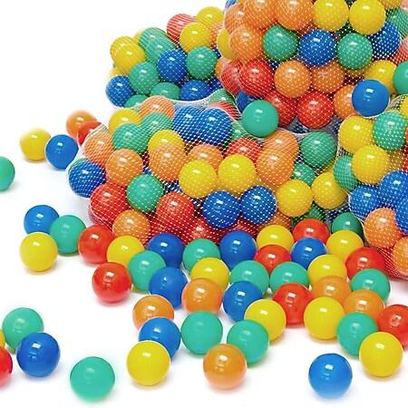 4000 bunte Bälle für Bällebad 7cm Babybälle Plastikbälle Baby Spielbälle - Bild 1