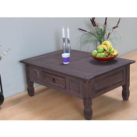 Kiefer Couchtisch Tisch Beistelltisch Wohnzimmertisch New Mexico kolonial massiv - Bild 1