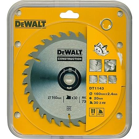 DeWalt Handkreissägeblatt DT1143 Kreissäge Blatt Ø 160mm Sägeblatt Werkzeug - Bild 1