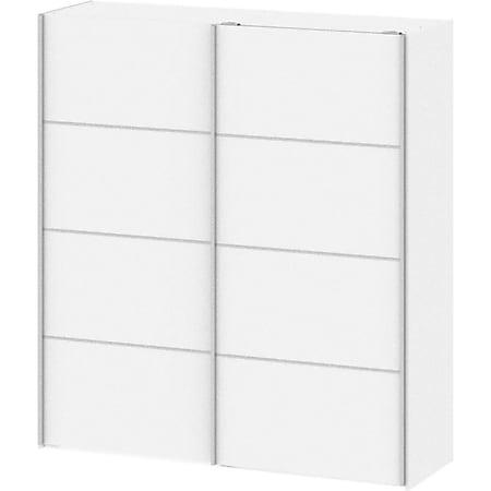 Kleiderschrank Veto 2 Türen Schlafzimmerschrank Schrank Drehtürenschrank weiss - Bild 1