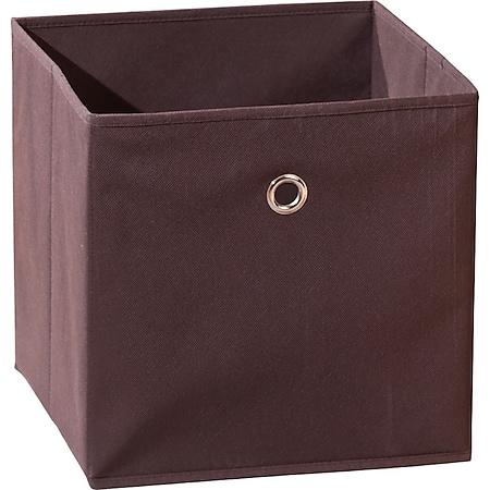 Aufbewahrungsbox Wase braun Faltbox Faltkiste Box Kiste Staubox Regal Kiste Korb - Bild 1