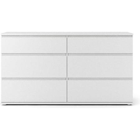 Kommode Nora Sideboard Schubladenschrank Highboard Schlafzimmer Schrank weiß - Bild 1