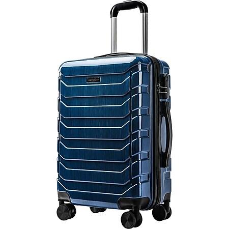 Carryone TSA Handgepäck blau Koffer Reisekoffer Trolley Hartschale Boardcase - Bild 1