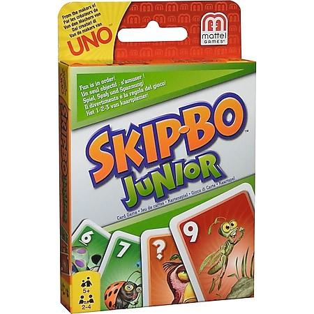 Mattel Skip-Bo Junior Kartenspiel Karten Gesellschaftsspiel Familienspiel Spiel - Bild 1