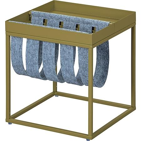 Cute Couchtisch grau oliv Wohnzimmer Beistelltisch Sofa Tisch Wohnzimmertisch - Bild 1
