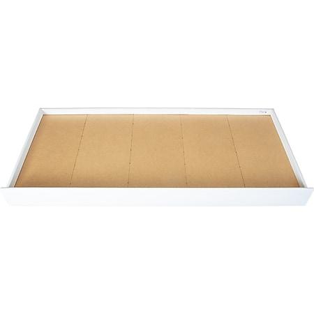 Umcki Bettschublade Kiefer weiss Schublade für Bett Einzelbett Jungendbett - Bild 1