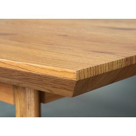 Broom Esstisch Wildeiche Dekor braun Tisch Küchentisch Esszimmertisch Esszimmer - Bild 1