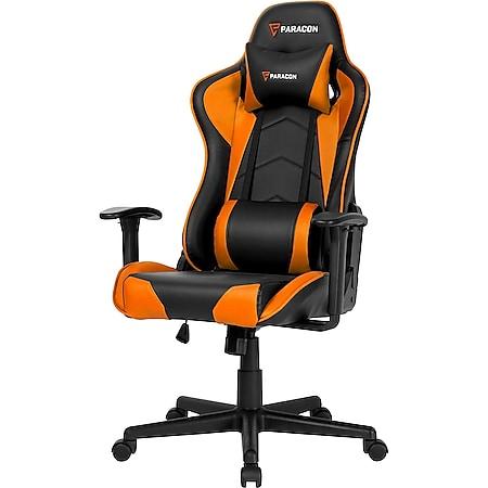 Paracon Brawler Gaming Computerstuhl Bürostuhl Gamer Stuhl Sessel Racing orange - Bild 1