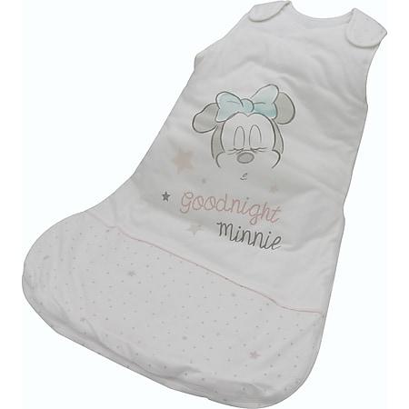 Disney Baby Schlafsack Minnie Mouse 90cm Baumwolle Fußsack Schlafanzug weiß - Bild 1