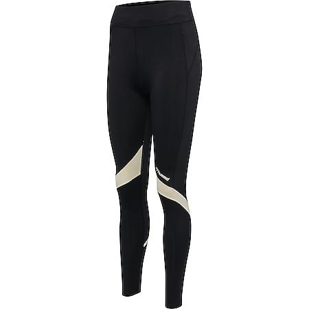 Hummel hmlALTHEA HIGH WAIST TIGHTS - schwarz- Legging - Bild 1