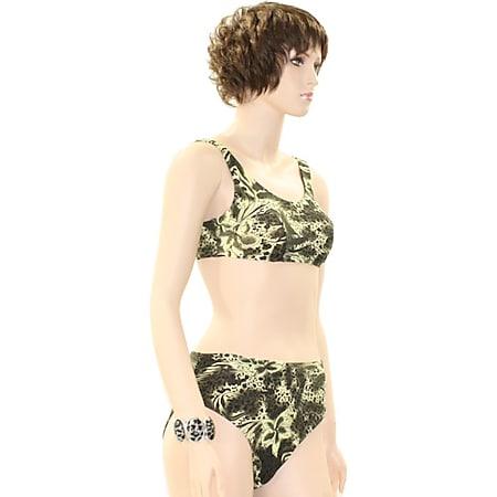 """Elemar Bikini """"Kirsten"""" oliv / natur Gr. 38 - Bild 1"""