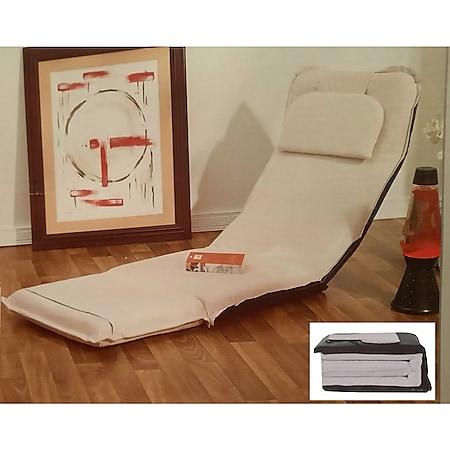 Chaiselongue Loungesessel Liege Relaxliege Liegesessel Lounge Sofa Sesselliege - Bild 1