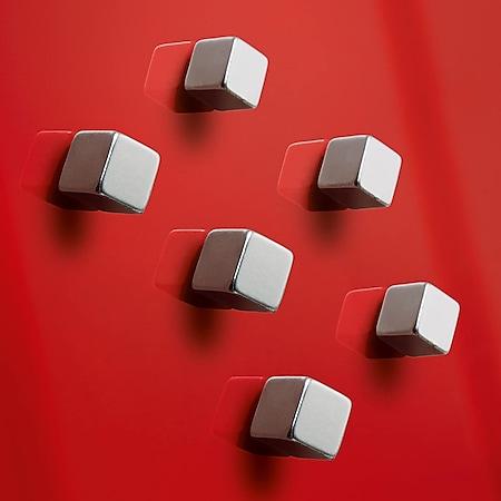 6x Sigel Super Dym Magnete C5 Strong GL192 Power Magnet f. Magnetwand Tafel - Bild 1