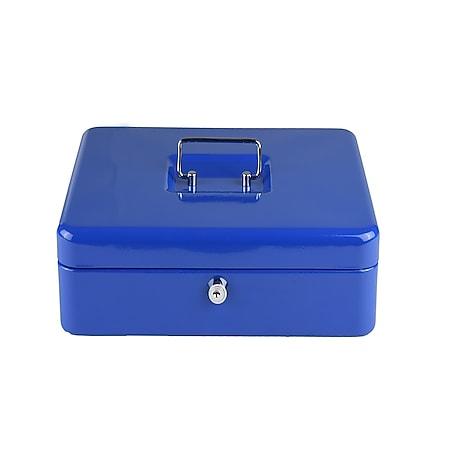 LEX Geldkassette ca. 20 x 16 x 9 cm/blau - Bild 1