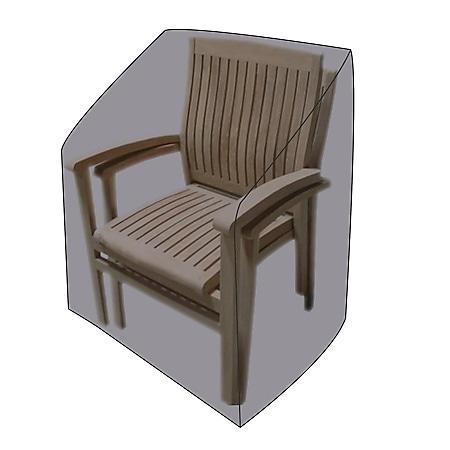 LEX Schutzhülle für Stapel- und Relaxstühle, 65 x 65 x 120/80 cm, Tragetasche - Bild 1