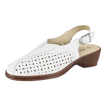 LISANNE COMFORT Damen Sling Sandalette, Weiß/40 /weiß - Bild 1