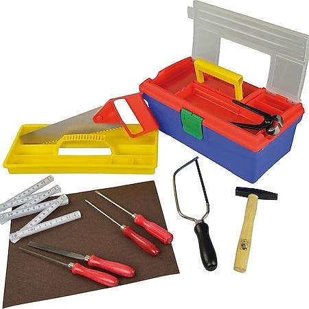 PEBARO Werkzeug-Set für Hobby und Schule, 11-teilig - Bild 1