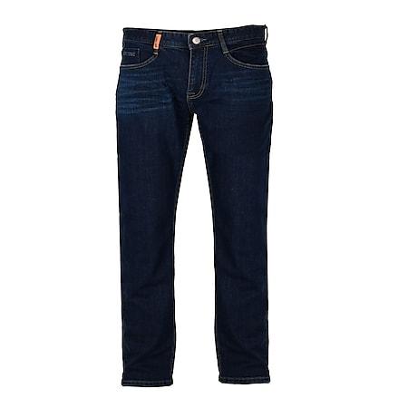 GIN TONIC Herren Straight fit Jeans Raw Blue Wash... 30/34, Raw Blue Wash - Bild 1
