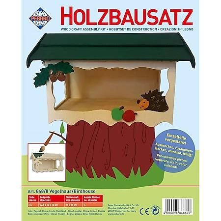 PEBARO Holzbausatz Vogelhaus - Bild 1