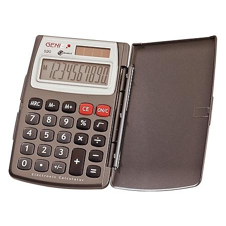 GENIE 520 Solar Taschenrechner Rechenmaschine Rechner Bürorechner Tischrechner - Bild 1