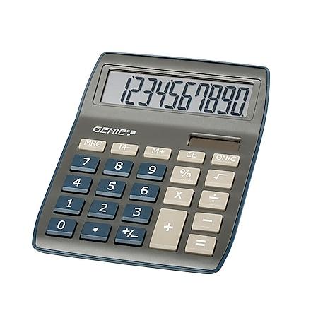 GENIE 840DB Solar Tischrechner Rechenmaschine Rechner Bürorechner Taschenrechner - Bild 1
