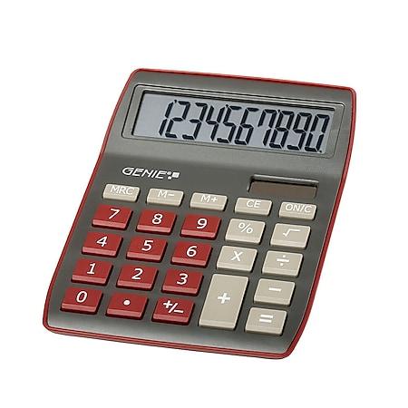 GENIE 840DR Solar Tischrechner Rechenmaschine Rechner Bürorechner Taschenrechner - Bild 1