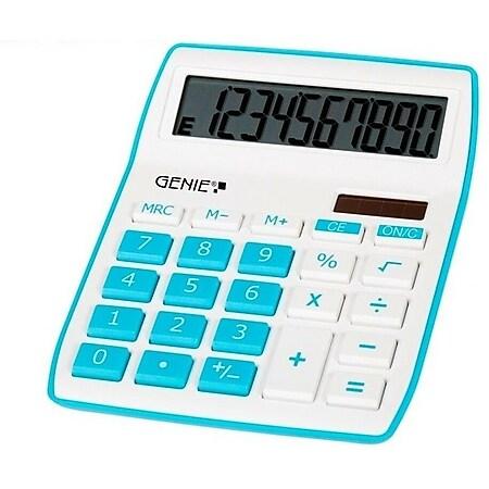 GENIE 840B Solar Tischrechner Rechenmaschine Rechner Bürorechner Taschenrechner - Bild 1