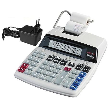 GENIE D69 Plus Druckender Tischrechner NEU! Rechenmaschine Rechner Kasse Drucker - Bild 1