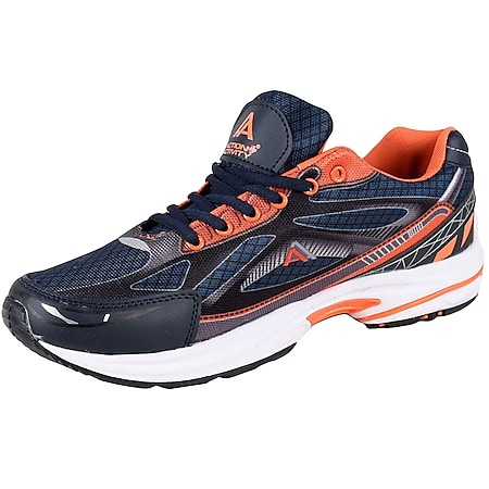 ACTION ACTIVITY Herren Sportschuh, Navy, Orange, 44 - Bild 1