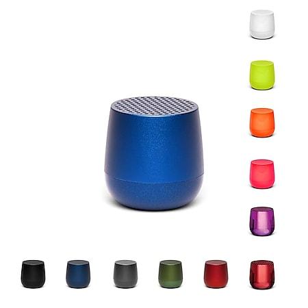 Lexon MINO+ Mini-Bluetooth-Lautsprecher TWS, Qi, versch. Farben Farbe: Metallic-Grau - Bild 1
