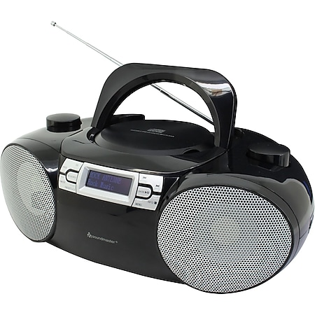 Soundmaster SCD8100SW DAB+ CD/MP3 Boombox, USB, SD, Bluetooth, schwarz - Bild 1