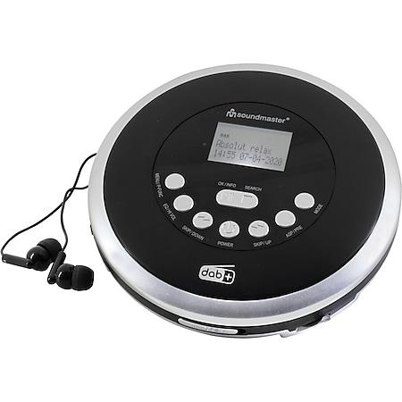 Soundmaster CD9290 CD/MP3-Player mit DAB+/UkW-Radio, Akkulade- u. Hörbuchfkt. - Bild 1