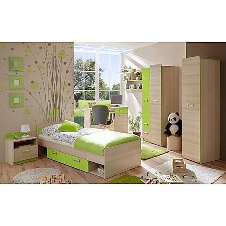 TiCAA Jugendzimmer Lori 6-teilig grün - Bild 1