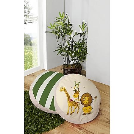 TiCAA Rundes Kissen-Set für Kinderzimmer 2-teilig - Bild 1