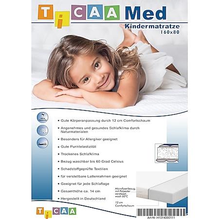 TiCAA Kindermatratze MedAllergen 80x160 - Bild 1