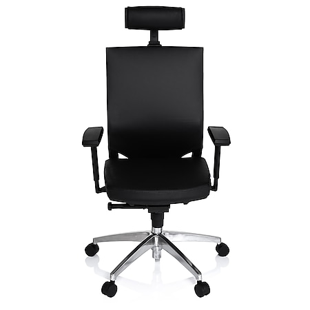 hjh OFFICE Profi Bürostuhl PORTO MAX HIGH mit Armlehnen (höhenverstellbar) - Bild 1
