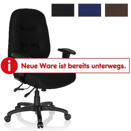 hjh OFFICE Profi Bürostuhl ZENIT PRO mit Armlehnen (höhenverstellbar) - Bild 1