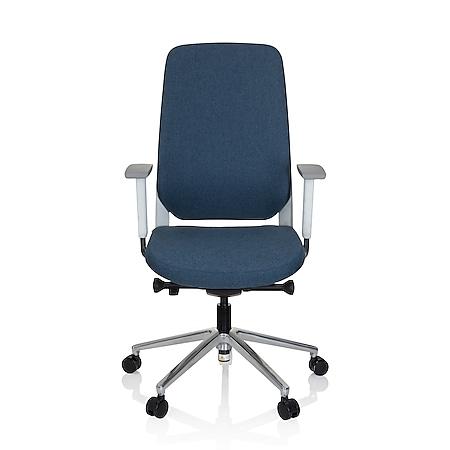hjh OFFICE Profi Bürostuhl CHIARO T4 WHITE mit Armlehnen (höhenverstellbar) - Bild 1
