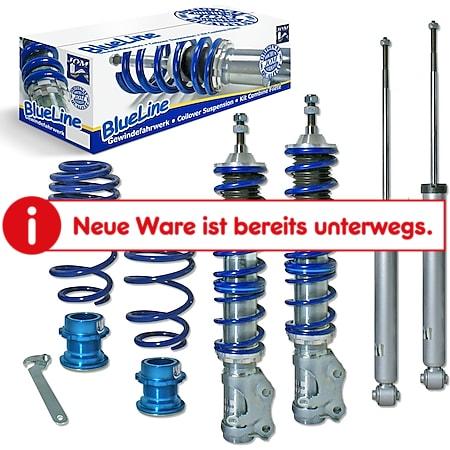 JOM BlueLine Gewindefahrwerk passend für VW Lupo 6X 1.0, 1.4, 1.4 16V, 1.6GTi, 1.4TDi, 1.7SDi, ab Baujahr 1999- - Bild 1