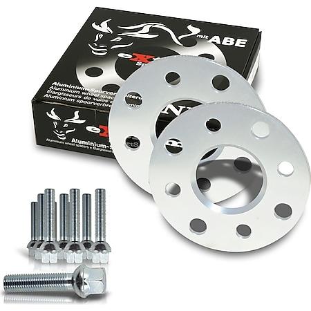 JOM Spurverbreiterung Set 10mm inkl. Radschrauben passend für Audi A3 inkl.Quattro,Cabrio (8P) - Bild 1