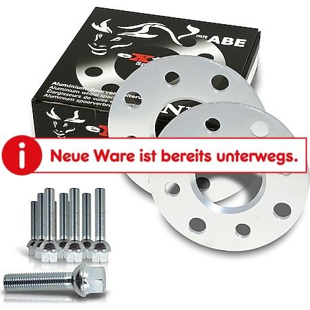 JOM Spurverbreiterung Set 10mm inkl. Radschrauben passend für VW Caddy (2KN) - Bild 1