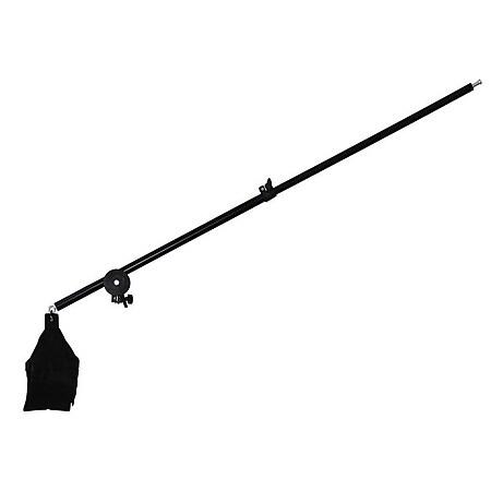 BRESSER BR-B135 teleskopischer Auslegearm 75-135cm inkl. Gag Gobo Klemme - Bild 1
