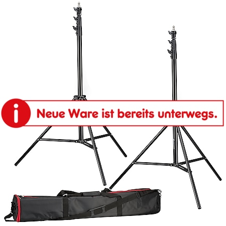 BRESSER 2x BR-TP280 PRO-1 Stativ (280 cm) + Tasche - Bild 1