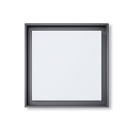 Led Deckenleuchte Wandleuchte Callas S 25W 3000K 27x27 cm IP54 dark grey 10805 - Bild 1